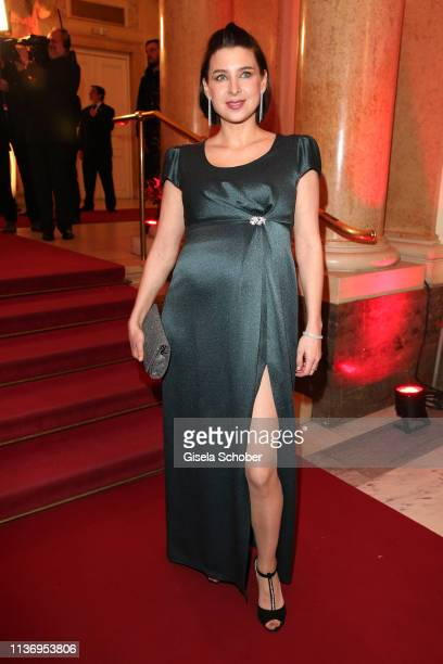 Martina Ebm during the ROMY award at Hofburg Vienna on April 13 2019 in Vienna Austria