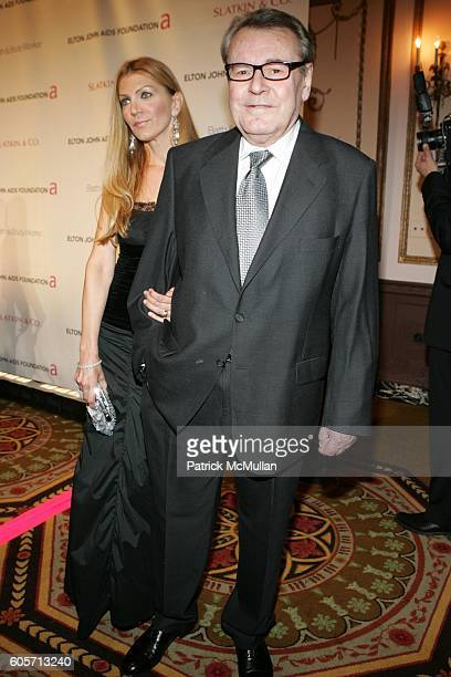 Martina Forman and Milos Forman attend An Enduring Vision Fifth Annual Benefit for the Elton John Aids Foundation at WaldorfAstoria on October 3 2006...