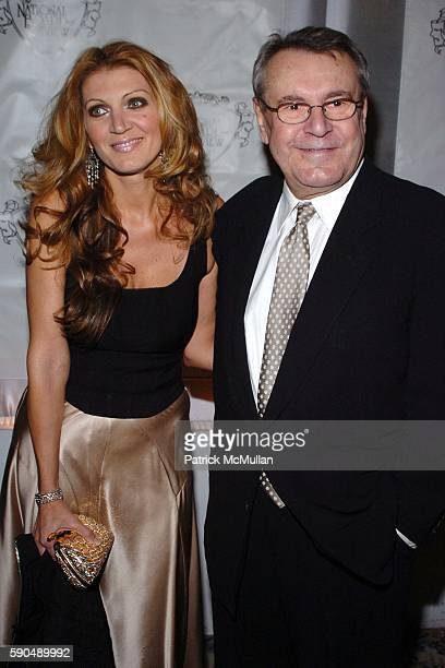 Martina Forman and Milos Forman attend The National Board of Review Annual Gala at Tavern on the Green on January 11 2005 in New York City