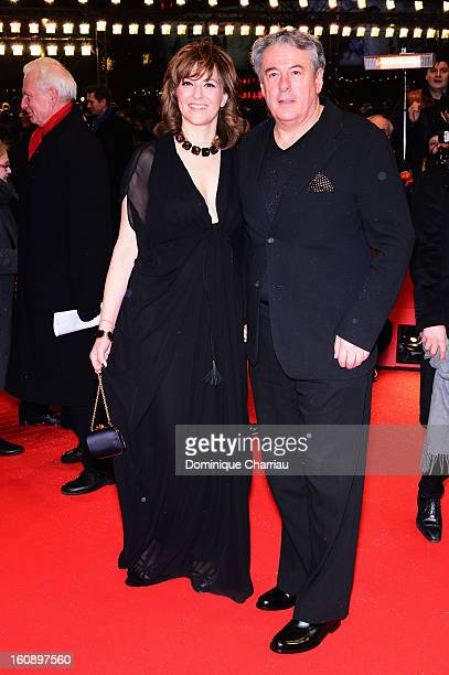 Martina Gedeck and Markus Imboden attend 'The Grandmaster' Premiere during the 63rd Berlinale International Film Festival at Berlinale Palast on...