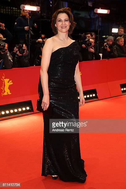Martina Gedeck attends the closing ceremony of the 66th Berlinale International Film Festival on February 20 2016 in Berlin Germany