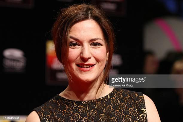 Martina Gedeck Bei Der Premiere Des Musicals Hinterm Horizont Im Theater Am Potsdamer Platz In Berlin