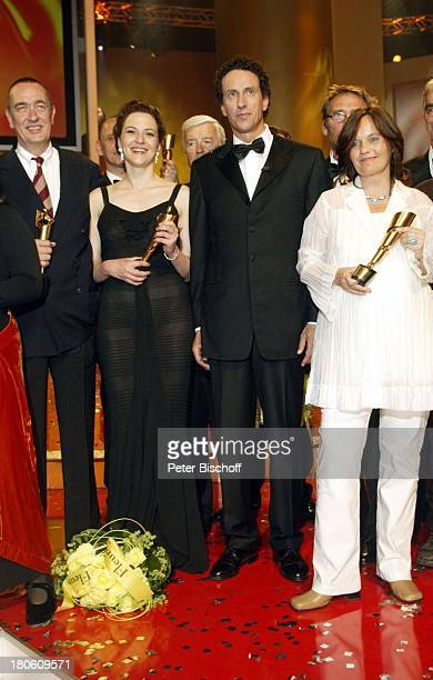 Martina Gedeck Name auf Wunsch Caroline Link Verleihung 'Deutscher Filmpreis 2002' Berlin Bühne Auftritt Preisverleihung Preis Auszeichnung...