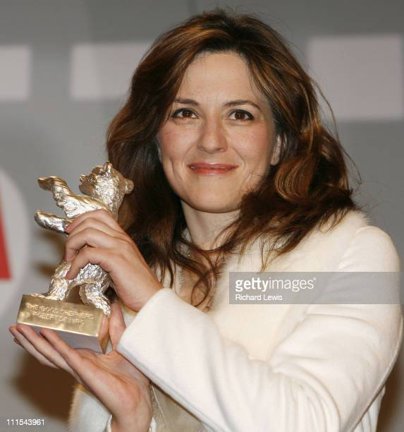 Martina Gedeck Silver Bear winner during 57th Berlinale International Film Festival Golden Bear Awards Show Press Conference in Berlin Germany