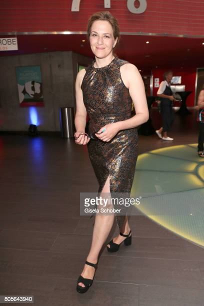 Martina Gedeck wearing a dress by Prada during the opening night of the Munich Film Festival 2017 at Mathaeser Filmpalast on June 22 2017 in Munich...