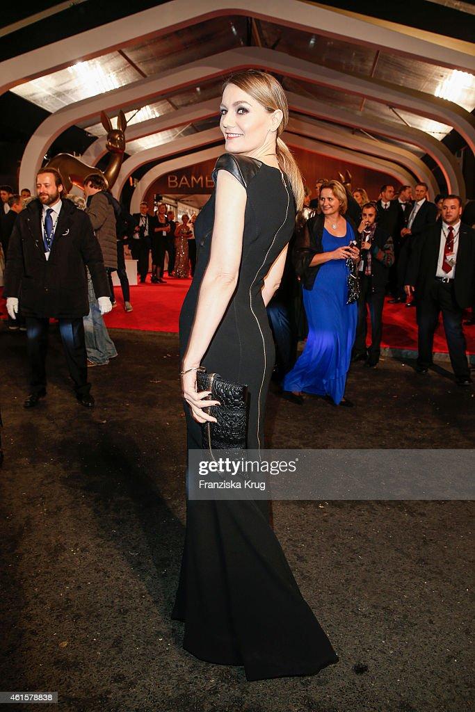 Martina Hill arrives at the Bambi Awards 2014 on November 13, 2014 in Berlin, Germany.