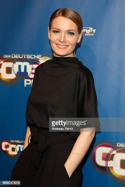 Martina Hill arrives for the 21st Annual German Comedy Awards on October 24 2017 in Cologne Germany