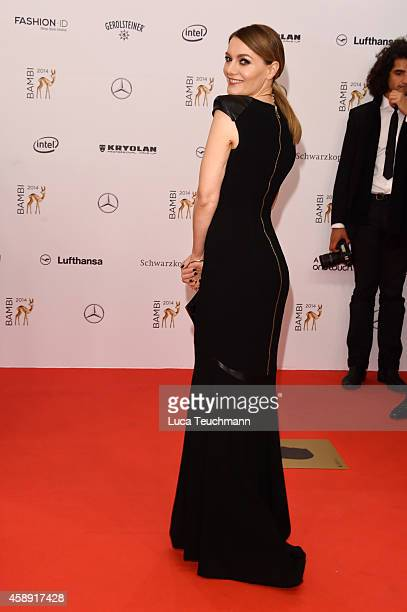 Martina Hill attends Kryolan at the Bambi Awards 2014 on November 13 2014 in Berlin Germany