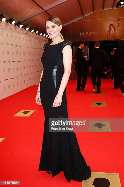 Martina Hill attends the Bambi Awards 2014 on November 13 2014 in Berlin Germany