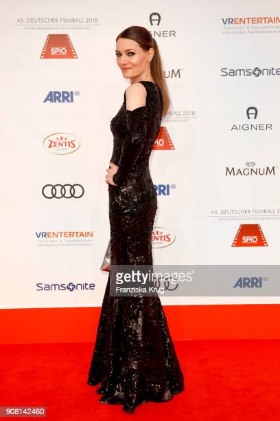 Martina Hill attends the German Film Ball 2018 at Hotel Bayerischer Hof on January 20 2018 in Munich Germany