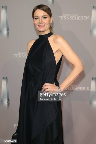 Martina Hill attends the German Television Award at Rheinterrasse on January 31 2019 in Duesseldorf Germany