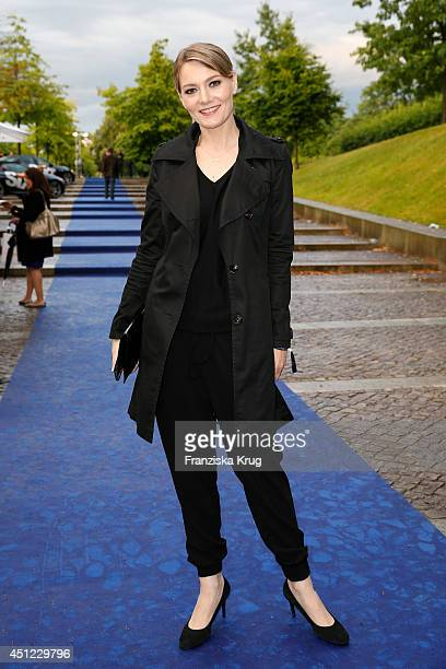 Martina Hill attends the producer party 2014 of the Alliance German Producer Cinema And Television on June 25 2014 in Berlin Germany