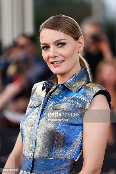 Martina Hill attends the red carpet of the Deutscher Fernsehpreis 2014 on October 02 2014 in Cologne Germany