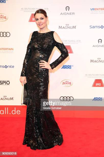 Martina Hill during the German Film Ball 2018 at Hotel Bayerischer Hof on January 20 2018 in Munich Germany