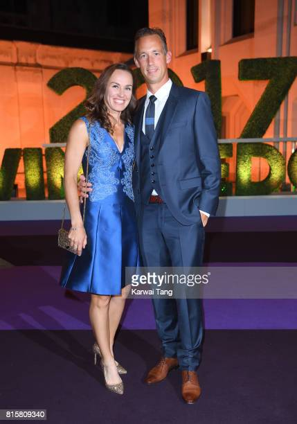 Martina Hingis attends the Wimbledon Winners Dinner at The Guildhall on July 16 2017 in London England