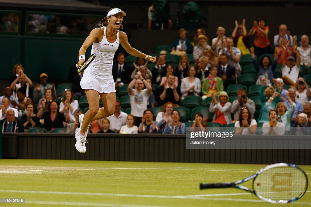 Day Twelve: The Championships - Wimbledon 2015 : Foto jornalística