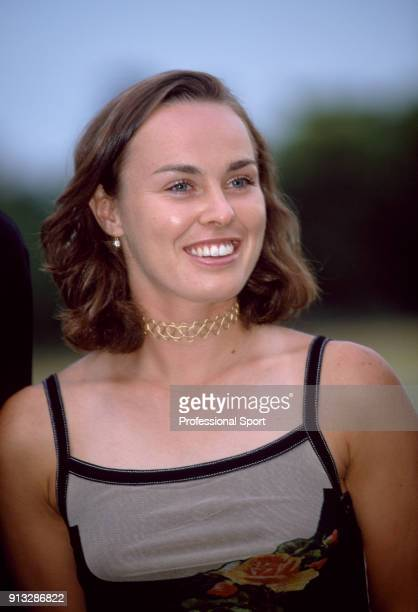 Martina Hingis of Switzerland during the ITF World Champions Dinner at the Pavillion d'Armenonville after the ninth day of the French Open at Roland...