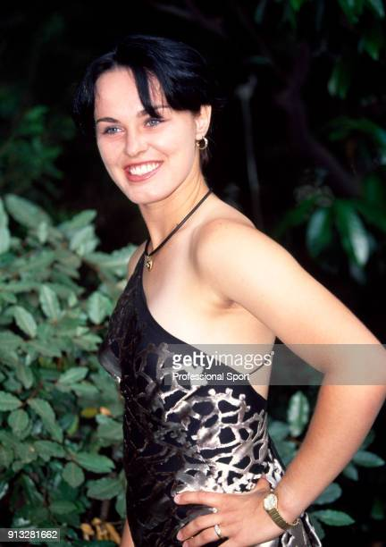 Martina Hingis of Switzerland poses during the ITF World Champions Dinner at the Pavillion d'Armenonville after the ninth day of the French Open at...