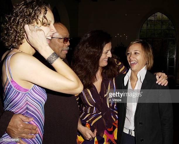 Martina Jones Quincy Jones Angela Missoni Rashida Jones