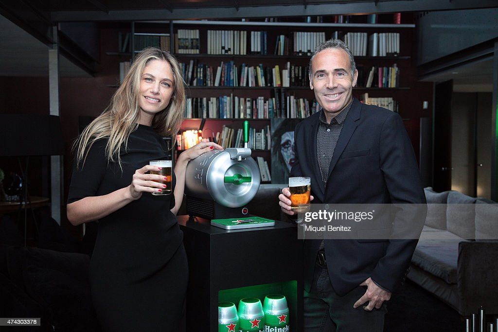 Martina Klein and Alex Corretja Present Heineken 'The Sub' in Barcelona