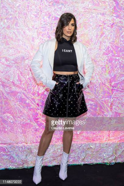 Martina Luchena attends during the Huawei Fashion Flair event on May 09 2019 in Milan Italy