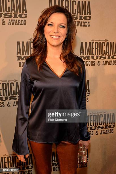 Martina McBride attends the 12th Annual Americana Music Honors And Awards Ceremony Presented By Nissan on September 18 2013 in Nashville Tennessee