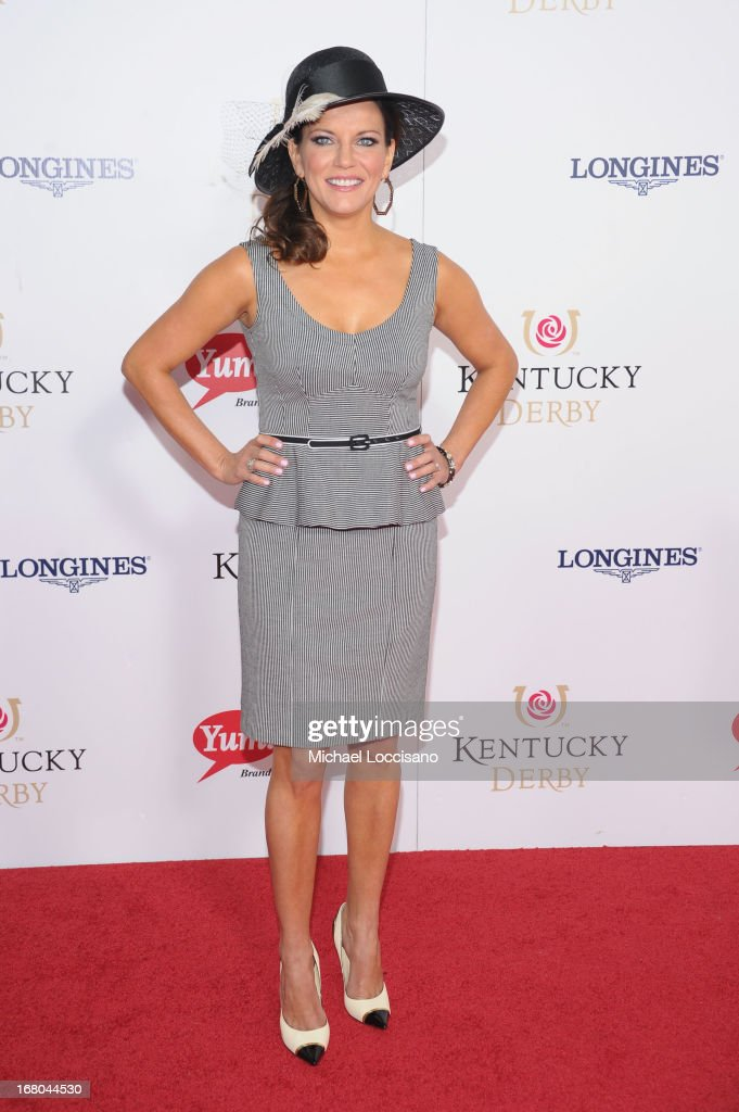 Martina McBride attends the 139th Kentucky Derby at Churchill Downs on May 4, 2013 in Louisville, Kentucky.