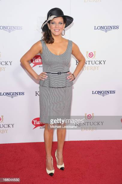 Martina McBride attends the 139th Kentucky Derby at Churchill Downs on May 4 2013 in Louisville Kentucky
