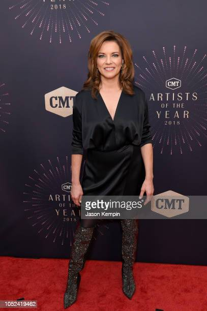 Martina McBride attends the 2018 CMT Artists of The Year at Schermerhorn Symphony Center on October 17 2018 in Nashville Tennessee