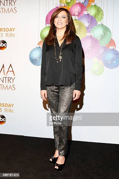 Martina McBride attends the CMA 2015 Country Christmas on November 7 2015 in Nashville Tennessee