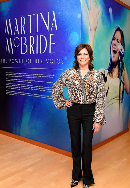 TN: Country Music Hall of Fame and Museum opens Martina McBride: The Power of Her Voice