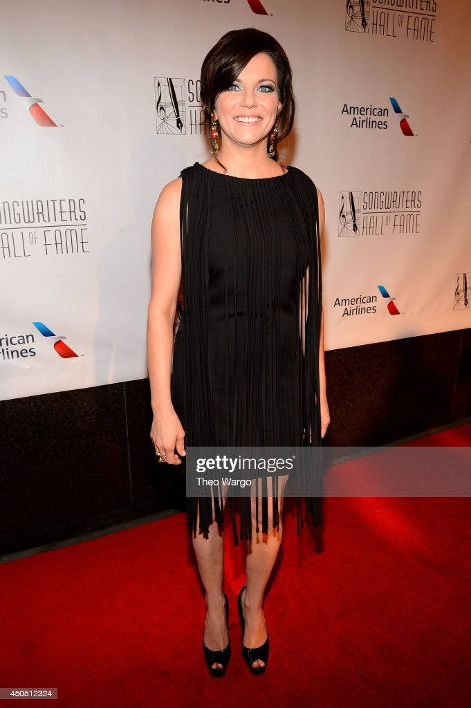 Martina McBride attends the Songwriters Hall of Fame 45th Annual Induction and Awards at Marriott Marquis Theater on June 12, 2014 in New York City.