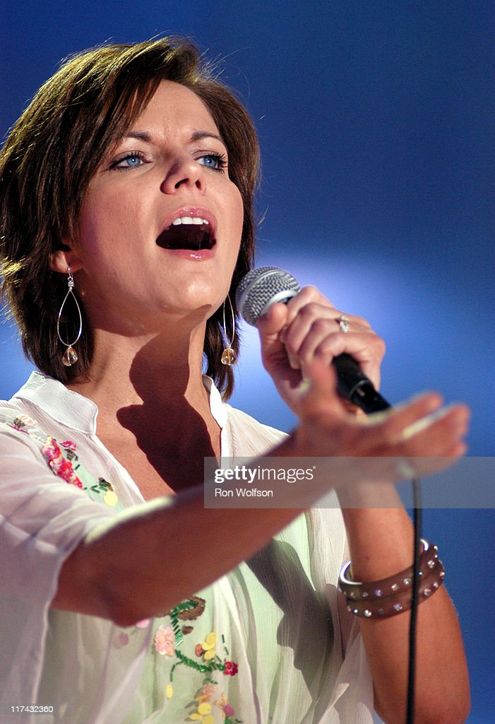 Martina McBride during 39th Annual Academy of Country Music Awards - Dress Rehearsal at Mandalay Bay Resort and Casino in Las Vegas, Nevada, United States.
