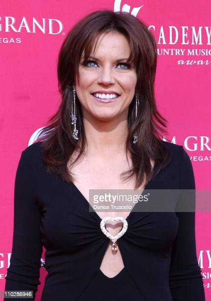 Martina McBride during 41st Annual Academy of Country Music Awards Arrivals at MGM Grand in Las Vegas Nevada United States