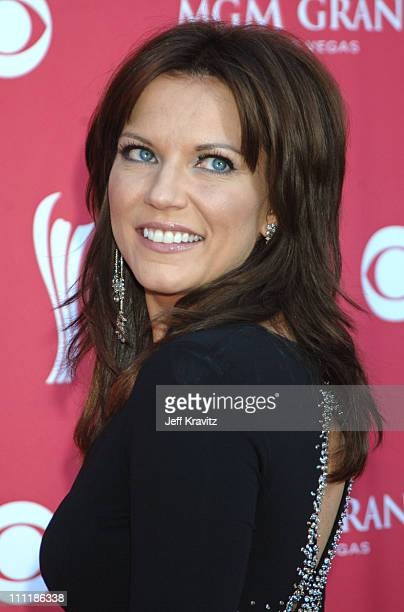 Martina McBride during 41st Annual Academy of Country Music Awards Arrivals at MGM Grand Theater in Las Vegas Nevada United States