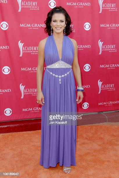 Martina McBride during 42nd Academy of Country Music Awards - Arrivals at MGM Grand Hotel and Casino Resort in Las Vegas, Nevada, United States.