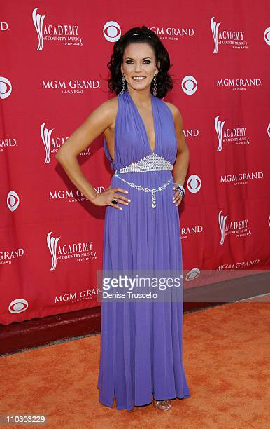 Martina McBride during 42nd Academy of Country Music Awards Red Carpet at The MGM Grand Hotel and Casino Resort in Las Vegas Nevada