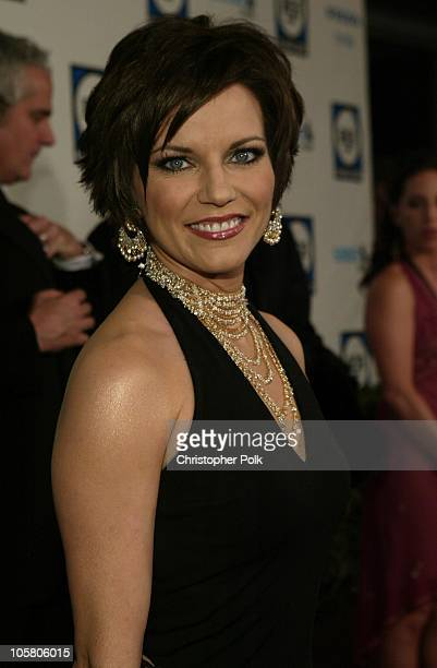 Martina McBride during Clive Davis Pre Grammy Party Inside Arrivals at Beverly Hills Hotel in Beverly Hills California United States