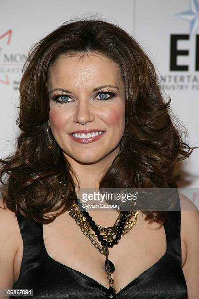 Martina McBride during Entertainment Industry Foundation's NCCRA Hollywood Meets Motown Colon Cancer benefit at Waldorf Astoria Hotel in New York New...