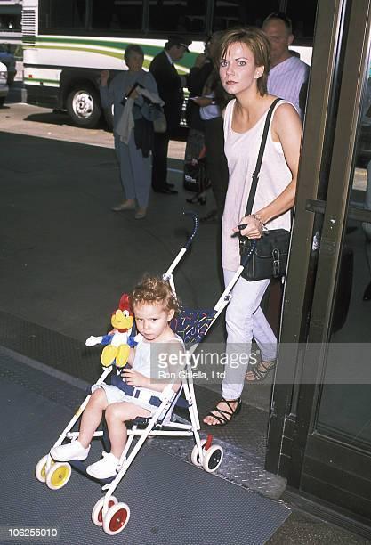 Martina McBride during Martina McBride Sighting at Los Angeles International Airport April 25 1997 at Los Angeles International Airport in Los...