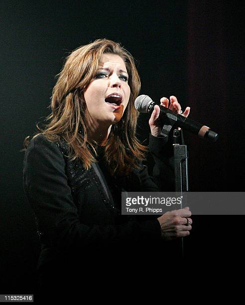 Martina McBride during Sprint Sound and Speed VIP Gala Dinner Auction and Performance at The Wildhorse in Nashville Tennessee United States