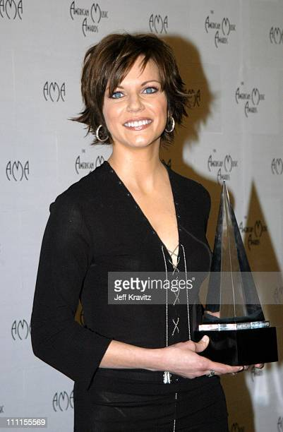 Martina McBride during The 30th Annual American Music Awards Backstage Party at Shrine Auditorium in Los Angeles California United States