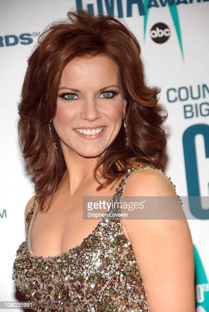 Martina McBride during The 40th Annual CMA Awards Arrivals at Gaylord Entertainment Center in Nashville Tennessee United States