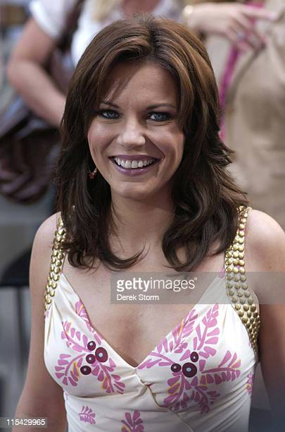 Martina McBride during The Today Show says Farewell to Katie Couric at Dean Deluca Plaza in New York City New York United States
