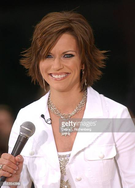 Martina McBride during The 'Today' Show's 2004 Summer Concert Series Martina McBride at Rockefeller Plaza in New York City New York United States