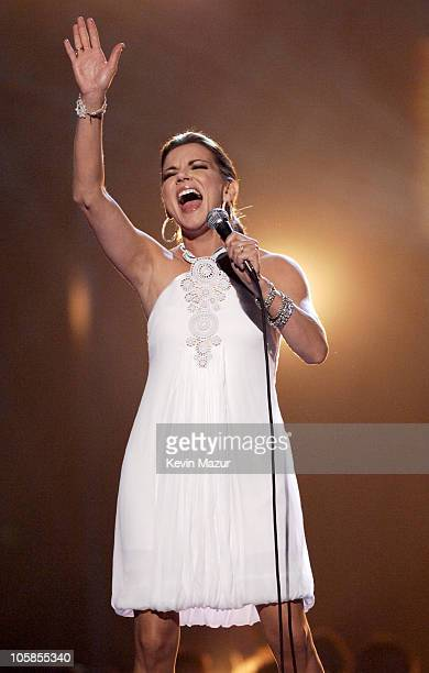 """Martina McBride performs """"Anyway"""" during 2007 CMT Music Awards - Show at The Curb Event Center at Belmont University in Nashville, Tennessee, United..."""