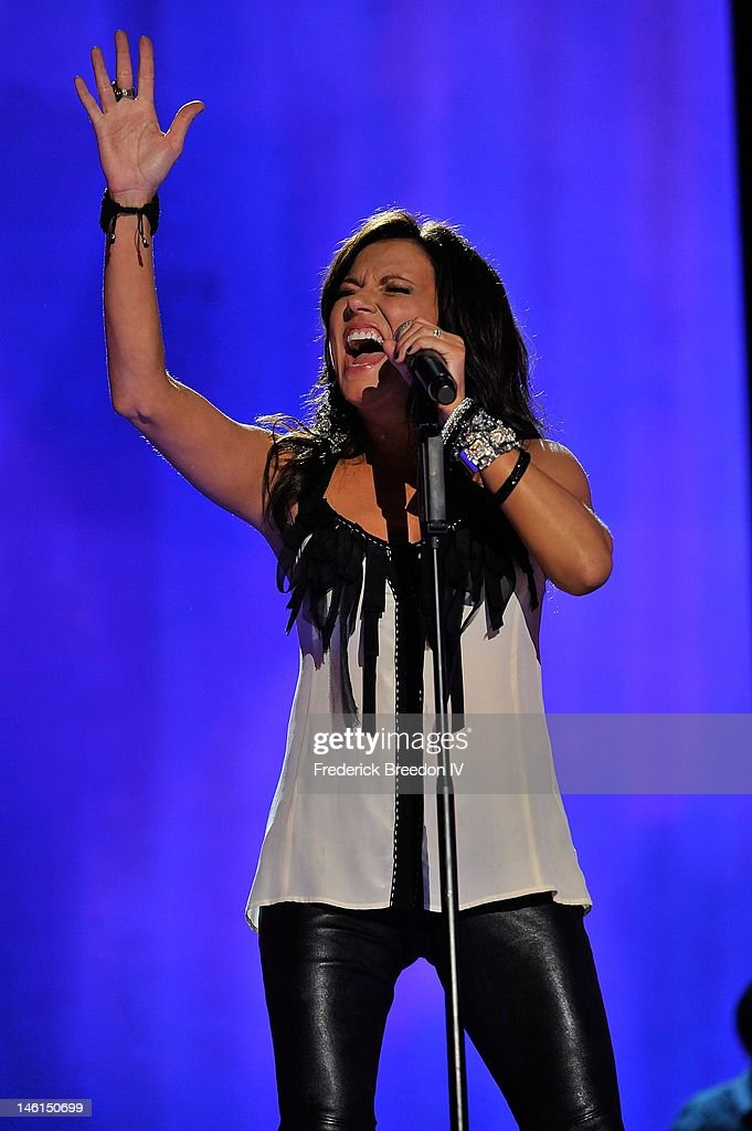 Martina McBride performs at LP Field during the 2012 CMA Music Festival on June 10, 2012 in Nashville, Tennessee.