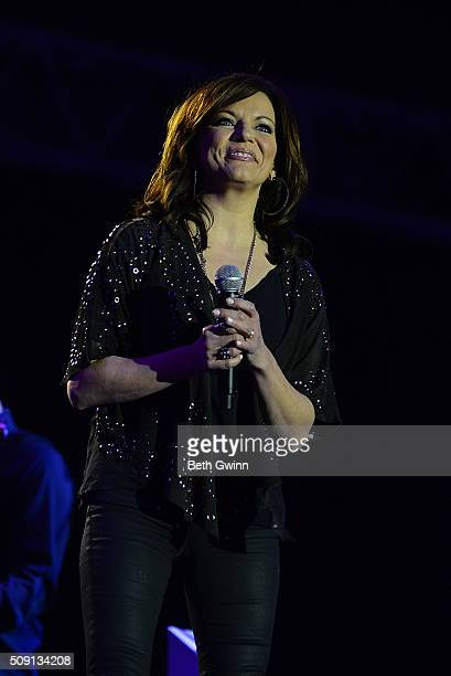 Martina McBride performs at the Grand Ole Opry at CRS show at the Omni Hotel on February 8 2016 in Nashville Tennessee