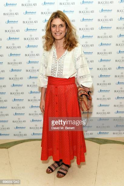 Martina Mondadori attends the Women4Walkabout Ladies Luncheon Sponsored By Buccellati at Claridges Hotel on June 16 2017 in London England