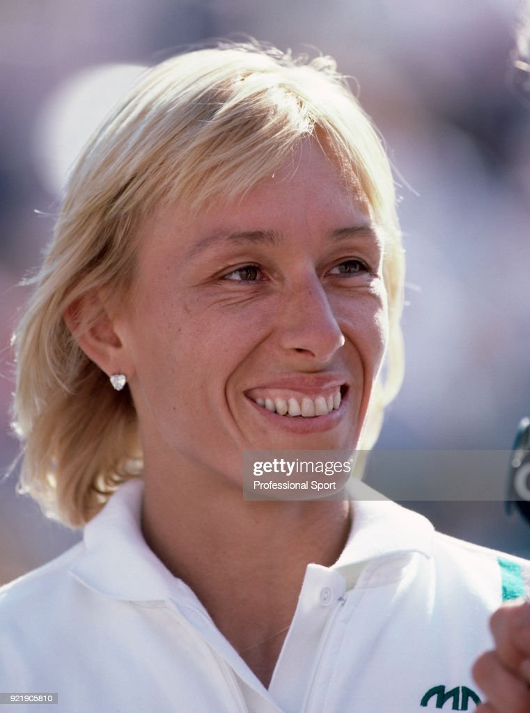Martina Navratilova of the USA during the US Open at the USTA National Tennis Center, circa September 1982 in Flushing Meadow, New York, USA.